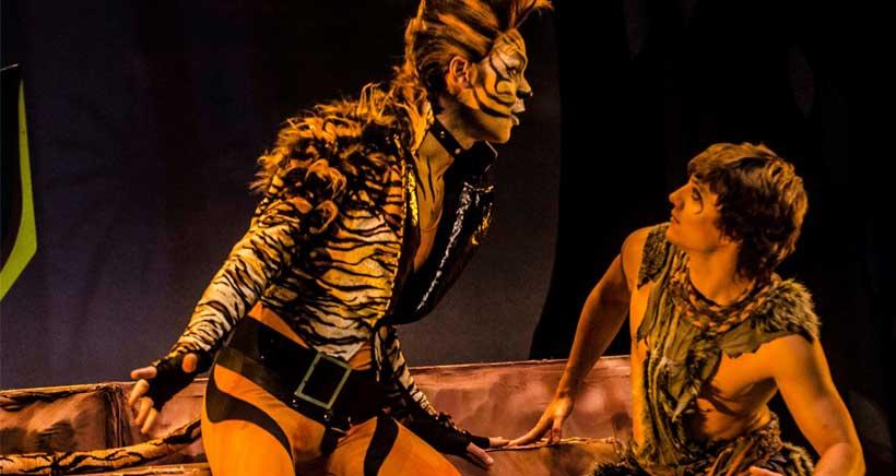 El Libro de la Selva, teatro musical infantil, en Riojaforum