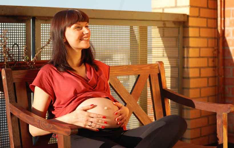 Embarazada verano