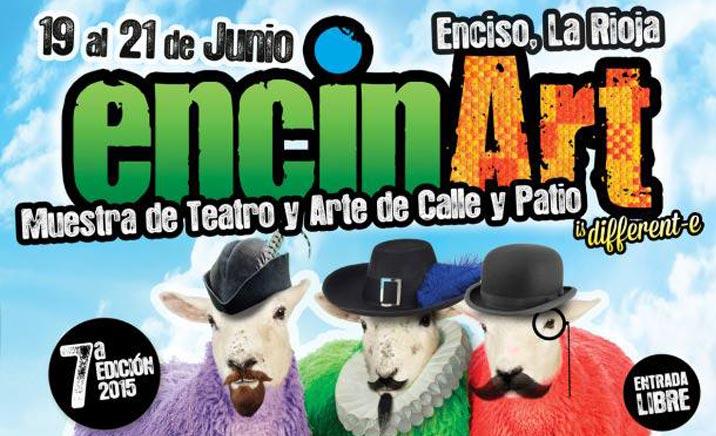 Teatro y arte en las calles de Enciso: Encinart 2015