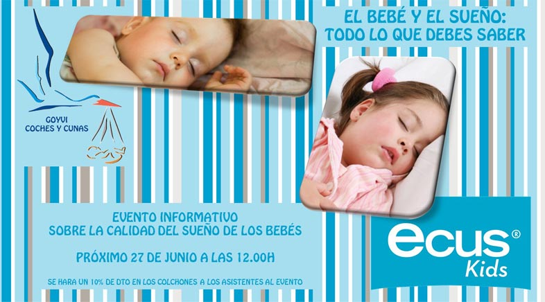 Coches y Cunas ofrece una charla sobre el sueño de los bebes
