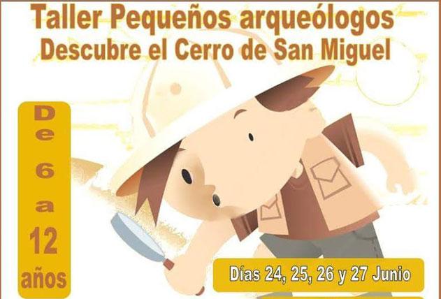Taller de arqueología para niños en Arnedo