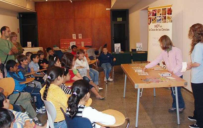 En Pascua, actividades infantiles en La Casa de las Ciencias