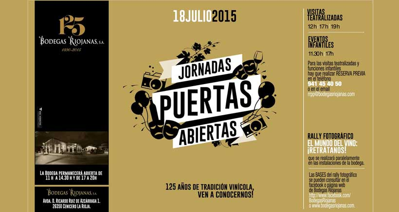 Jornada festiva en Bodegas Riojanas por su 125 aniversario