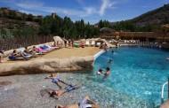 El Barranco Perdido abre la temporada de piscinas