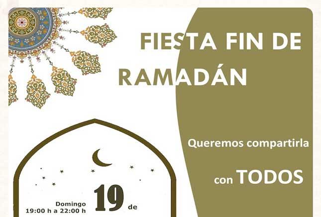 Fiesta fin de Ramadán en la Plaza del Mercado
