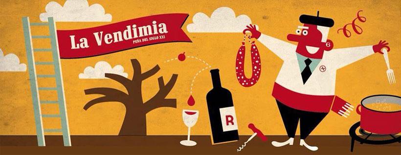La Vendimia, una nueva peña para animar las fiestas de Logroño