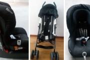 Se vende: silla de paseo y silla para el coche