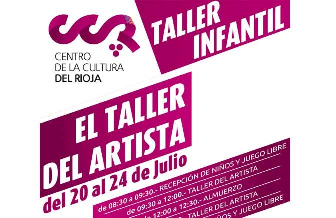 Talleres de arte para niños en el Centro de la Cultura del Rioja