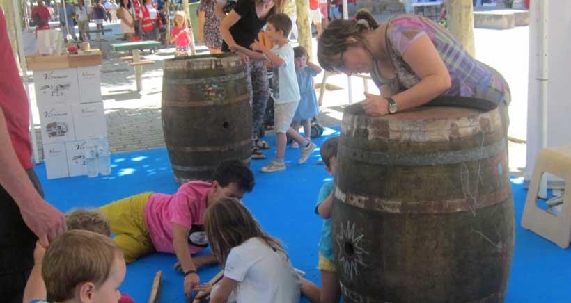 Feria de artesanía y vino con actividades infantiles en Fuenmayor