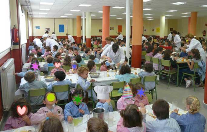 Sos La Vuelta Al Comedor Escolar