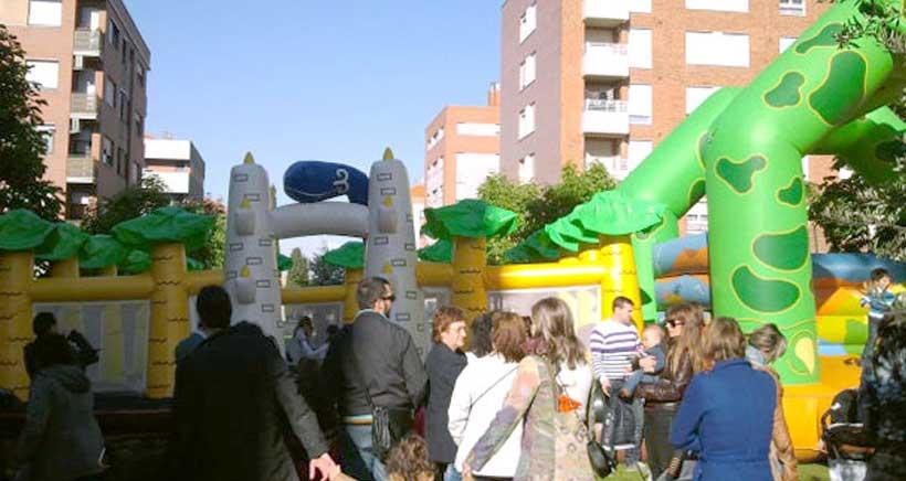 Fiestas en el barrio logroñés de El Arco