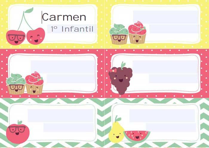 Pegatinas-Carmen