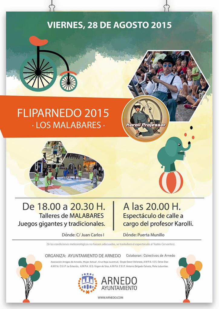 Cartel Fliparnedo 2015