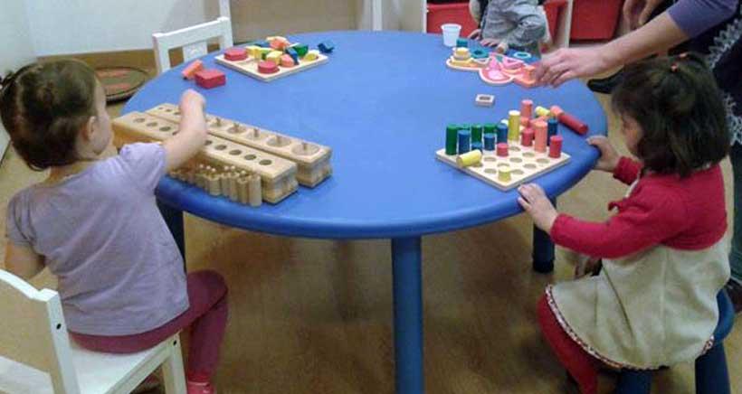 Montessori, matemáticas e inglés en la ludoteca de El Secreto de Pitágoras