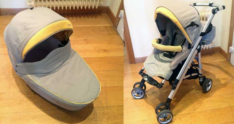 Se vende: silla y cochecito para bebé