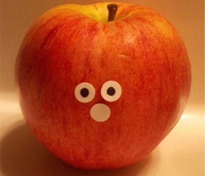 manzana almuerzo