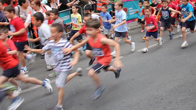 Mini Maratón solidaria en Logroño