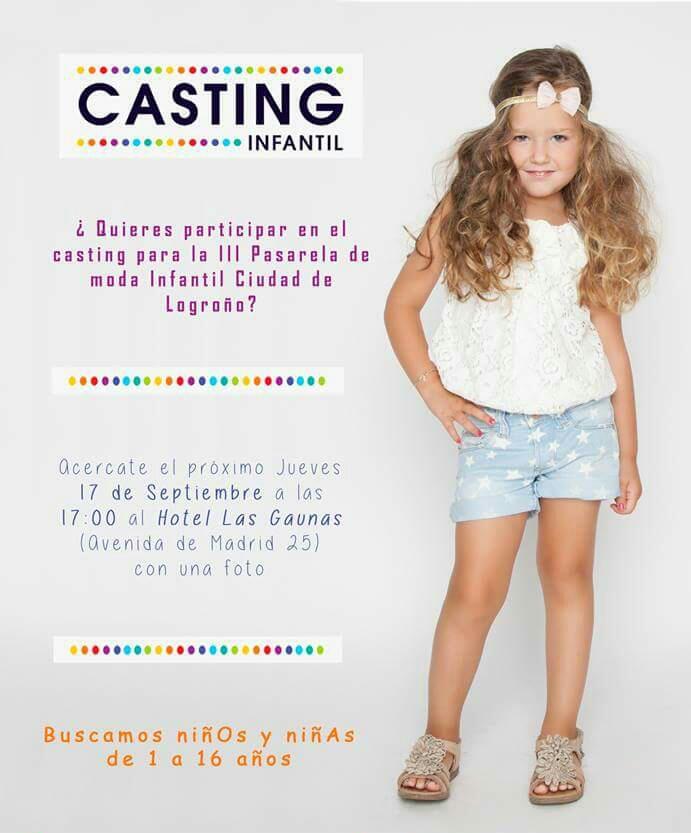 casting moda infantil