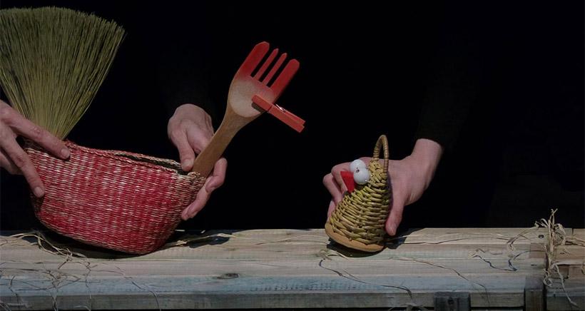 Espectáculo de títeres y objetos en la Sala Gonzalo de Berceo