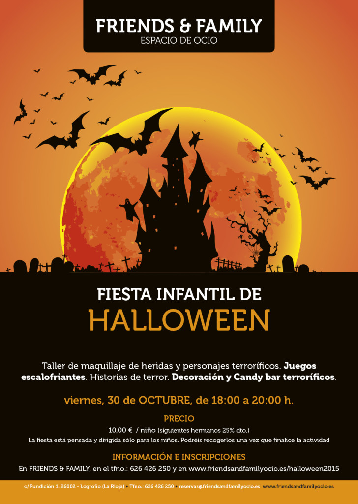 cartel-halloween friends&family