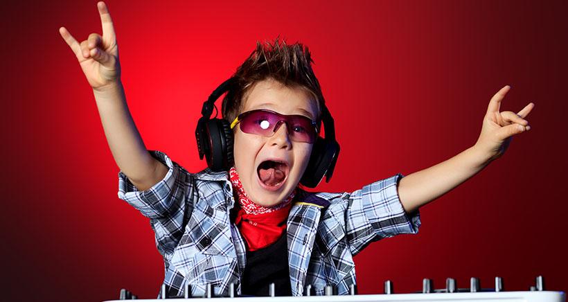 Festival de música electrónica para niños en Vitoria