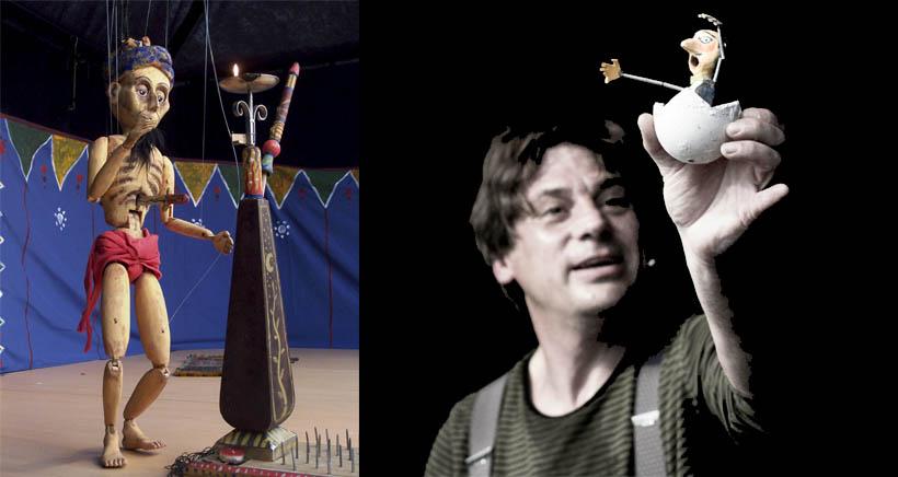 Circo de marionetas en la Sala Gonzalo de Berceo