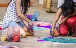Cuentacuentos solidario y taller de rangolís