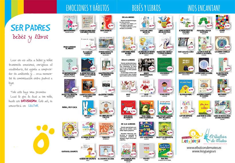 Bebés y libros web