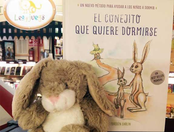 GANADORES del sorteo de dos ejemplares de 'El conejito que quiere dormirse'