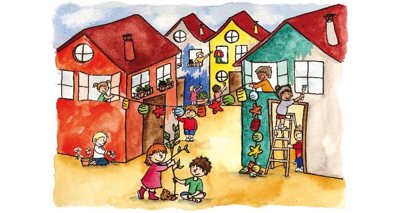 Exposición sobre los derechos de la infancia