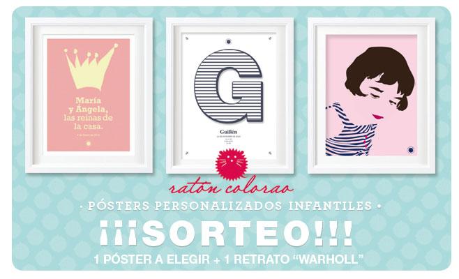 GANADORA del póster y retrato personalizado de ratoncolorao.es