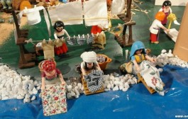 Belén de Playmobil en Santo Domingo