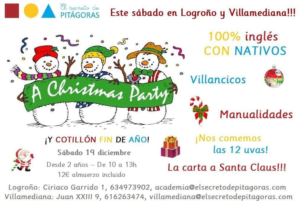 'Christmas party' en El Secreto de Pitágoras
