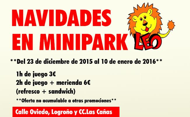 Minipark Leo ha preparado una gran oferta para estas Navidades