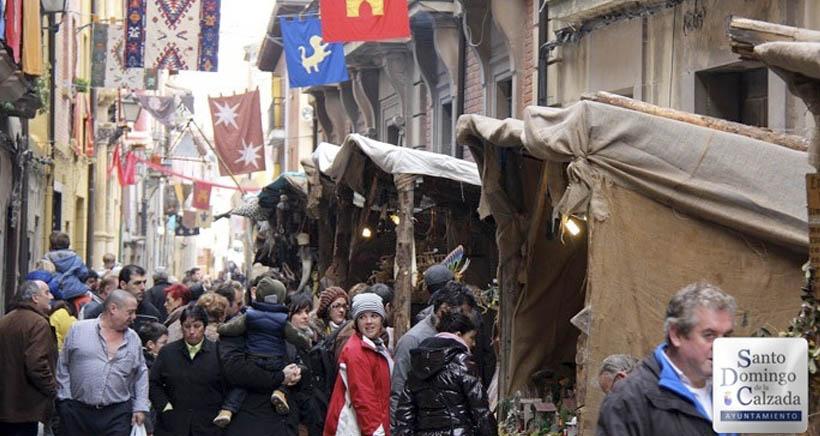 Santo Domingo vuelve al medievo durante sus fiestas de la Concepción