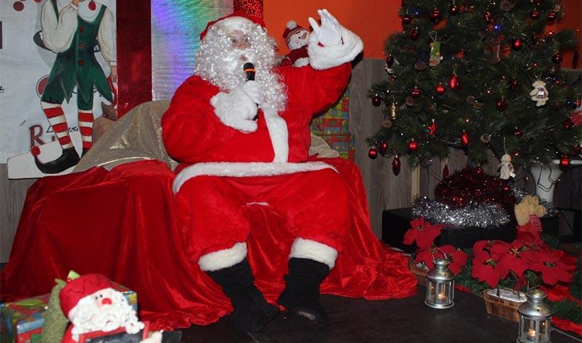 Papá Noel visita Paintball Ocio Rioja en Nochebuena
