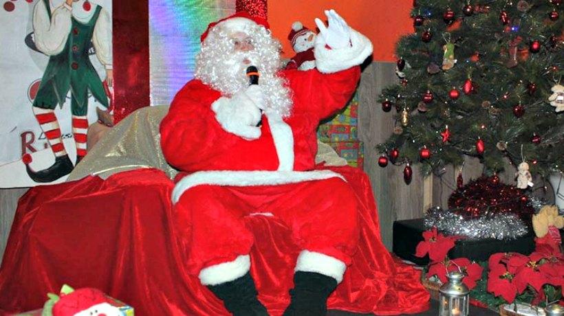¿Dónde puedo encontrar a Papá Noel?