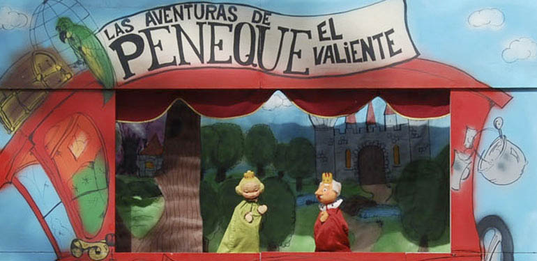Marionetas para niños