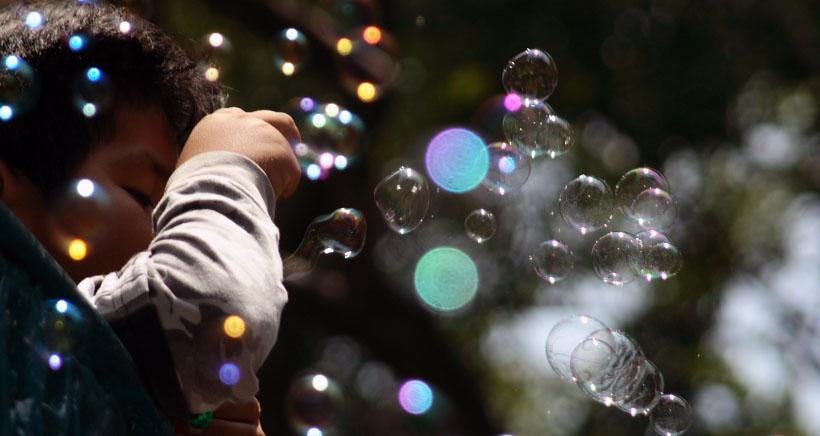 Papá Noel, pompas y sorteo de juguetes en Las Cañas