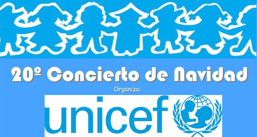 Concierto solidario de Navidad de UNICEF