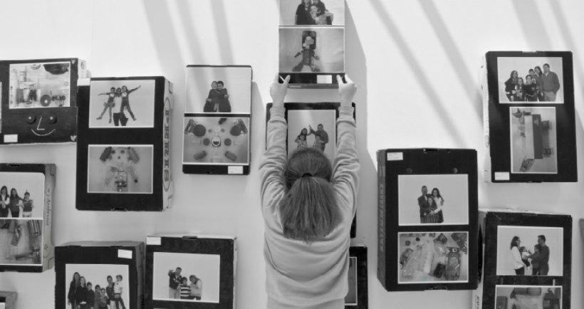 Actividad para familias 'con arte' en el Museo Würth