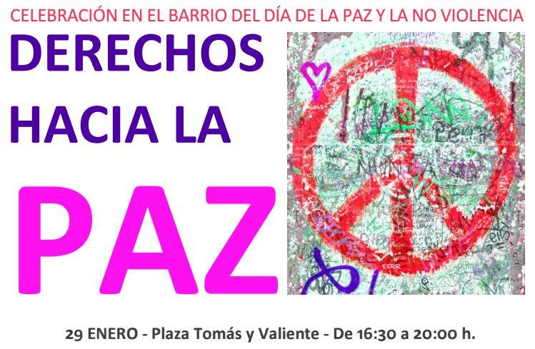 Día de la Paz en Logroño con los vecinos de San José y Madre de Dios