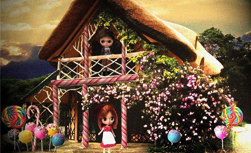 Taller Hansel y Gretel en la biblioteca Rafael Azcona