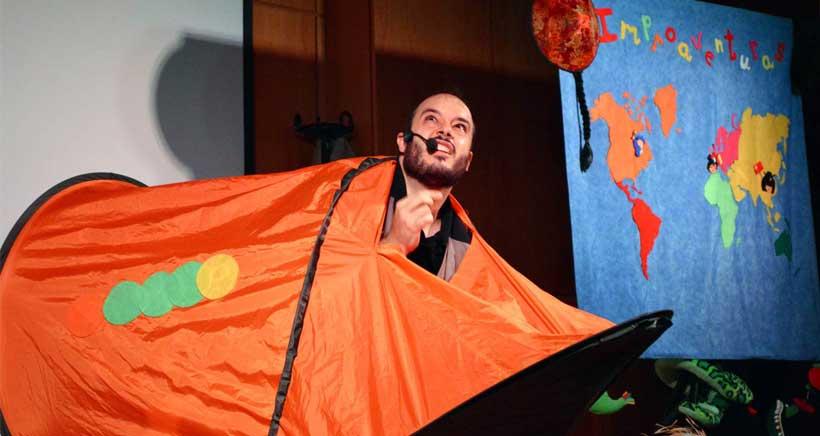 Teatro de improvisación: Javichi inventor