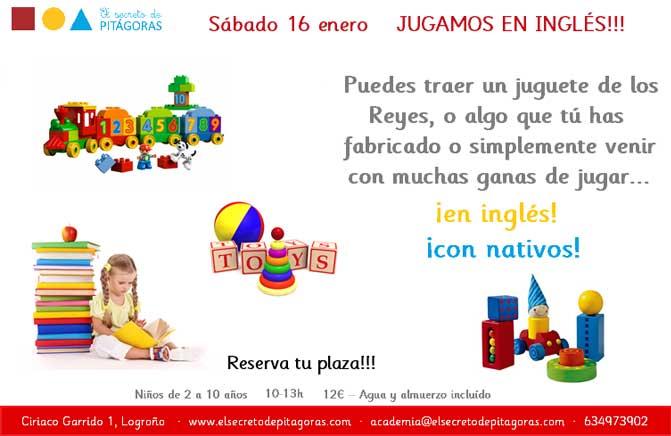 Sábados en inglés en El Secreto de Pitágoras