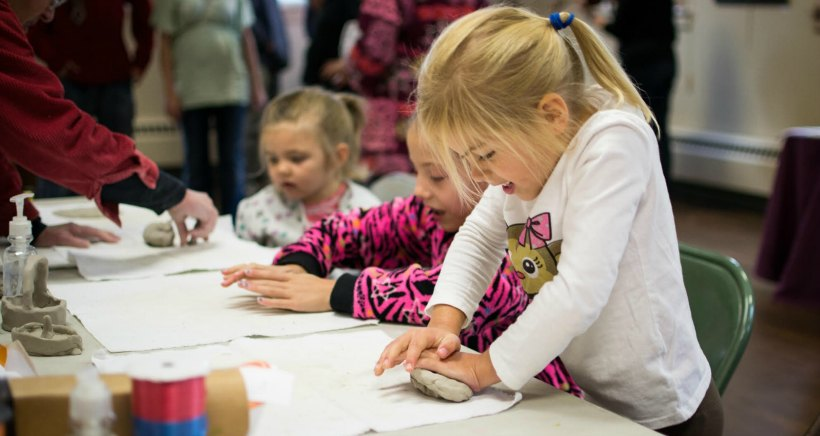 """""""Clay in your hands"""": Sculpting for Kids"""