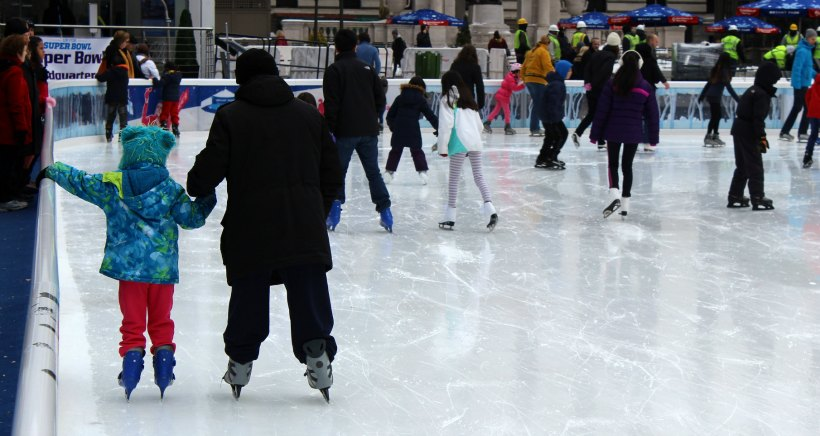 pista de hielo