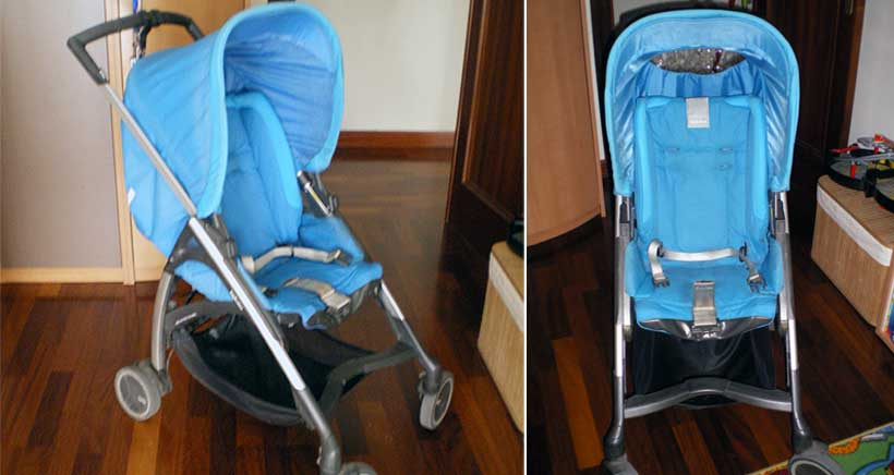 Se vende capazo y silla Inglesina Avio de segunda mano