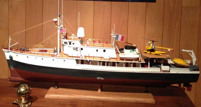 'Barcos con historia', exposición de maquetas de barcos en La Merced