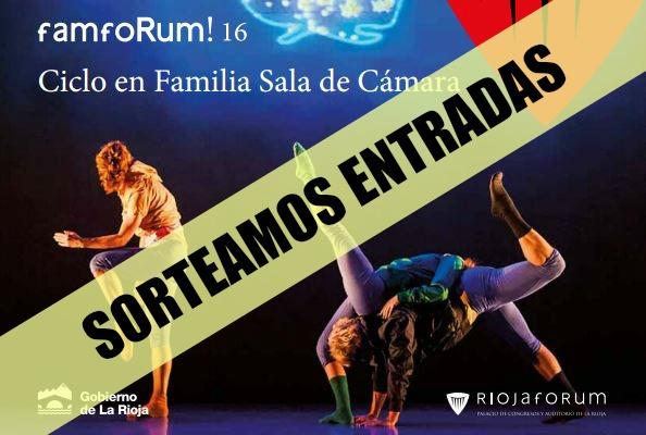 Consigue entradas gratis para el Ciclo de Danza Infantil de Riojaforum
